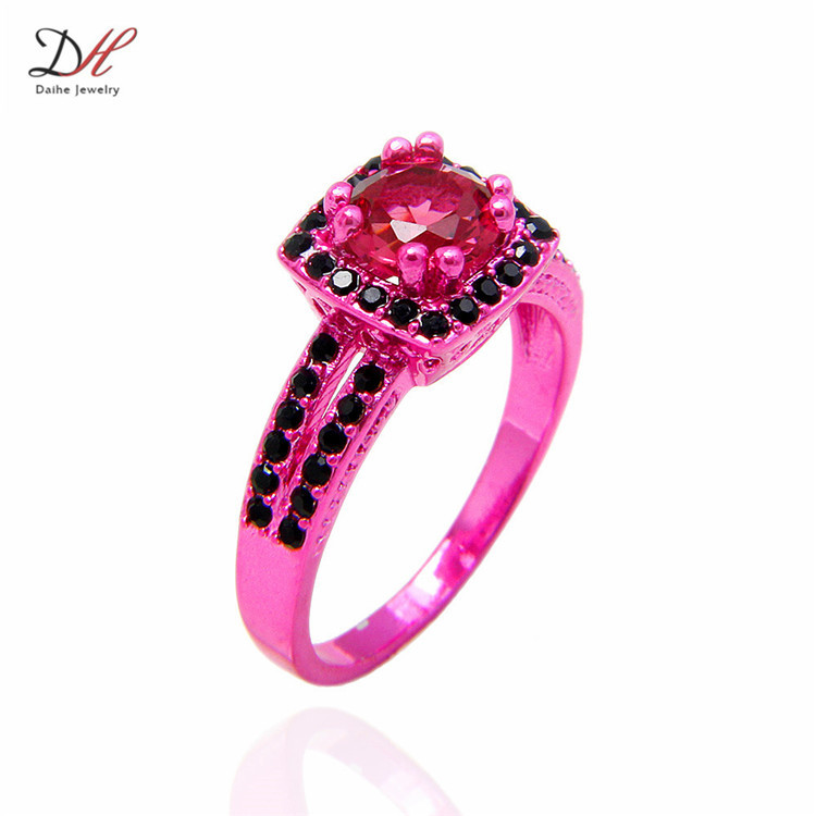aliexpresscom buy wholesale turkish wedding rings finger rings women zircon black red gold filled engagement ring fine jewelry from reliable fine - Turkish Wedding Ring