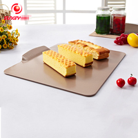 Boundless multifunction pan baking mould champagne gold bread cake mould bakeware rectangle non stick baking tray BM 007