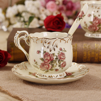 Europe UK Ilt Painted Ceramics Vintage Tea Cups Coffee Cup Tea Chinese Kung Fu Tea Free Shipping