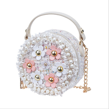 Little Girls Toddler PreK Princess Bag Kids Baby Messenger Crossbody Flower Wallets Handbags Shoulder Bags