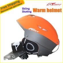 Winter AIDY-205 PC+EPS Skiing Helmet Half-covered Skating/Skateboard/Snowboard Helmet Hot Selling Free Size(58-61cm Adjustable)