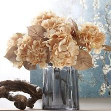 Klonca High Grade 3D Silk Flower 44cm 10pcs/lot Fake Hydrangea Artificial for Home Wedding Decoration