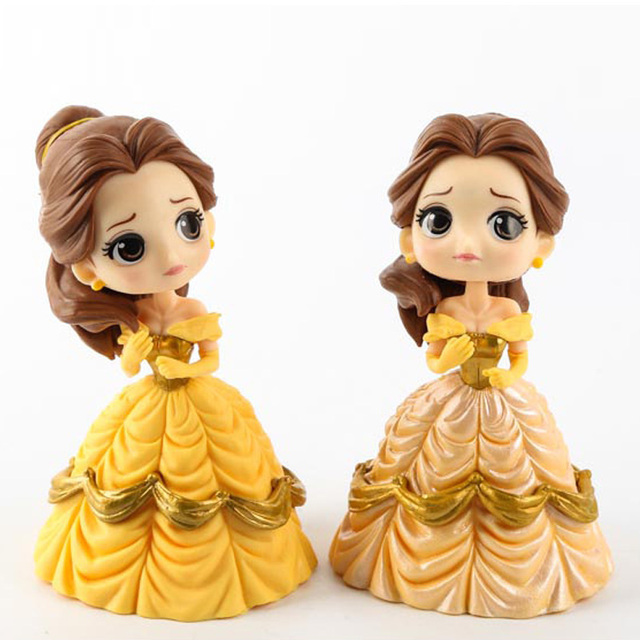Wholesale 20pcslot 14cm Princess doll Beauty and The Beast model