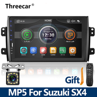 2din Car Radio 9'' Mirrorlink Android Bluetooth Car 2DIN Stereo MP5 Player For SUZUKI SX4 2006 2013 Multimedia Stereo No android