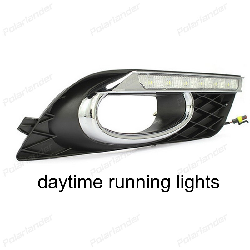 2017 new arrival auto Car styling For  Honda Civic 2011-2015 daytime running lights