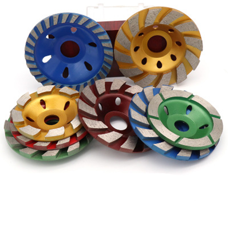 """4/"""" 100mm Diamond Saw Blade Cup Shape Grinding Disc Wheel For Concrete Granite"""