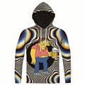 Drop Shipping Men Women Drunk Beer Psychedelic Hoodie All Over Print Hip Hop Hooded Sweatshirt 3d Trippy Hoodie Sudaderas Hombre