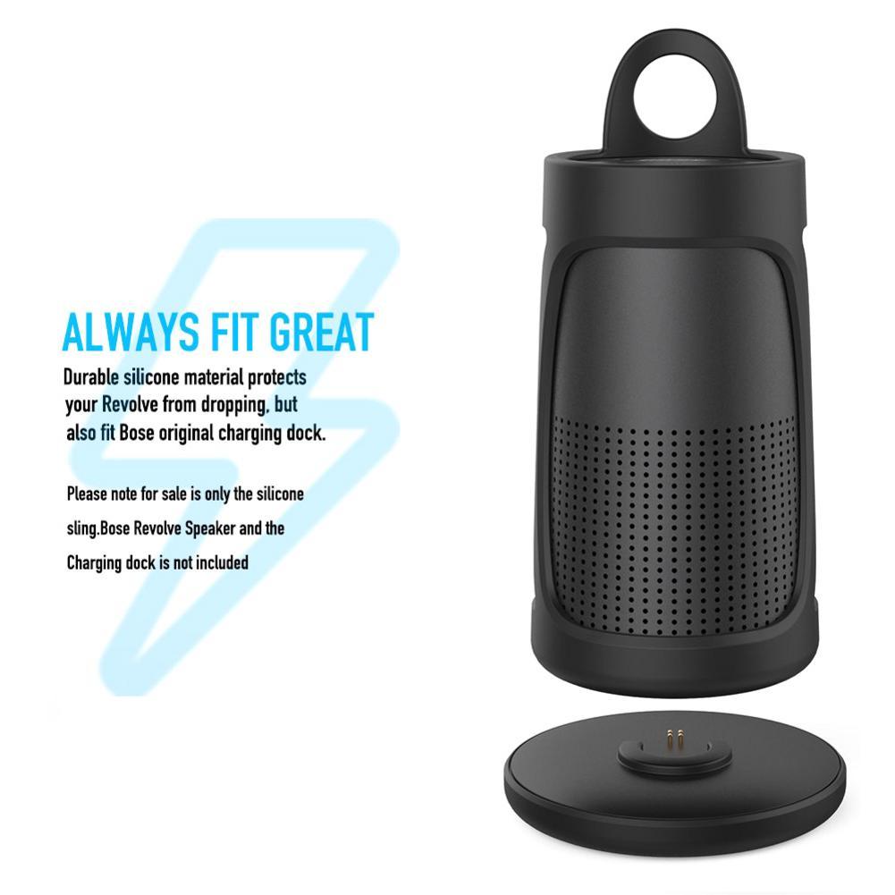 Silicone Case Protective Case Protector For Bose SoundLink Revolve