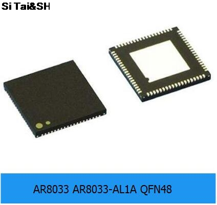 1PCS    AR8033-AL1A QFN48 Chip ATHEROS Series AR8033 Ethernet Chip Original Authentic--HYDD2