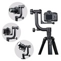Professional Gimbal Bird Watching Tripod Panoramic 360 degree flexible Tripod Head best for video Telephoto Lens DSLR Camera