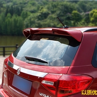 Car Styling For Suzuki Vitara 2016 ABS Plastic Unpainted Primer Color Tail Wing Rear Boot Trunk Spoiler Auto Part 1Pcs
