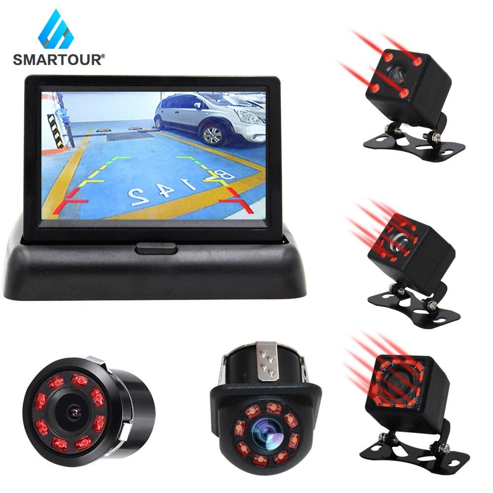 Smartour Car Rear View Camera Reversing Parking System Kit 4.3