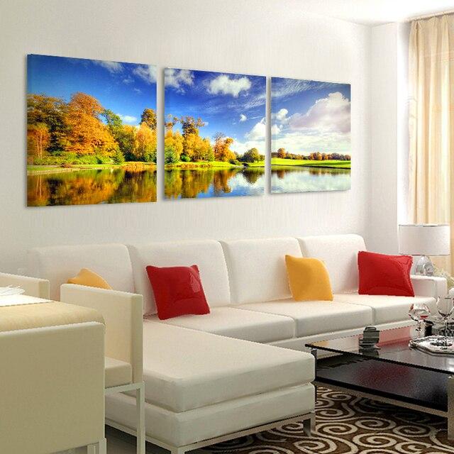 Без Рамки Toile печати холст картины фотографии модульный декоративная живопись на стене гостиной искусства Диван фон современный