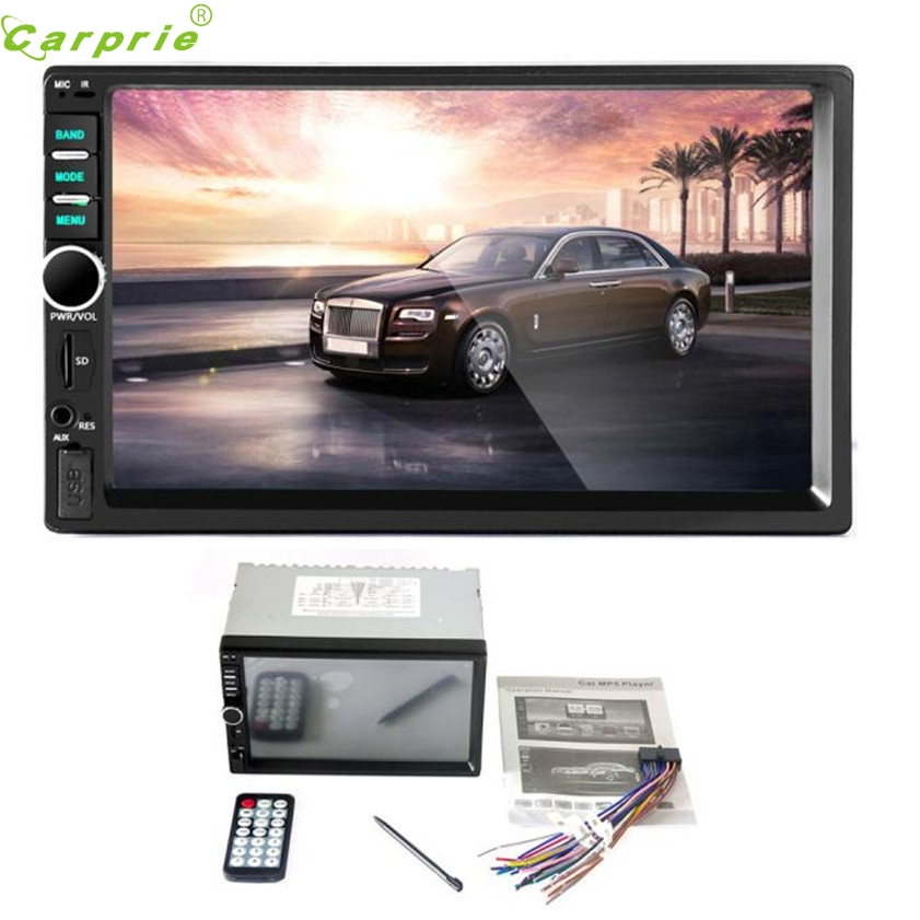 ФОТО High Quality   Bluetooth Car Stereo Audio In-Dash Aux Input Receiver SD/USB MP5 Player
