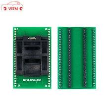 Najnowsza wersja QFP48 do DIP48 gniazdo testowe ic 0.5mm Picth/LQFP48 do DIP48 adapter do programowania/TQFP48 do DIP48Adapter