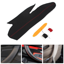 Стайлинга автомобилей интерьера ручной швейной Micro кожа двери панелей, ручек тянуть Накладка для BMW 3 4 серии 320 318 325 M4 Спорт