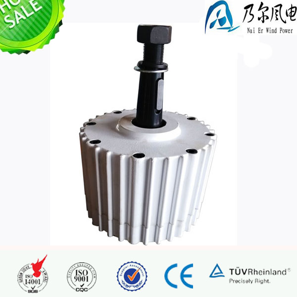 Naier wind power 1000w 1kw rare earth permanent magnet generator for wind turbine