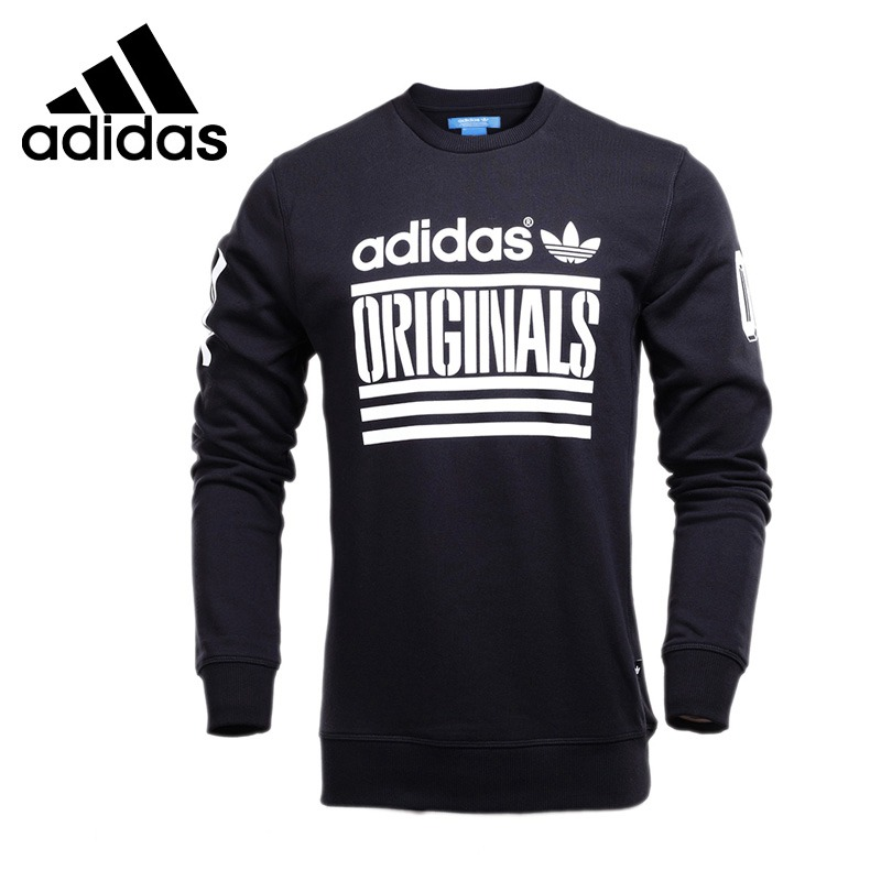 Original New Arrival Adidas Originals ORI GRP CREW Men's Pullover Jerseys Sportswear grp водолазки