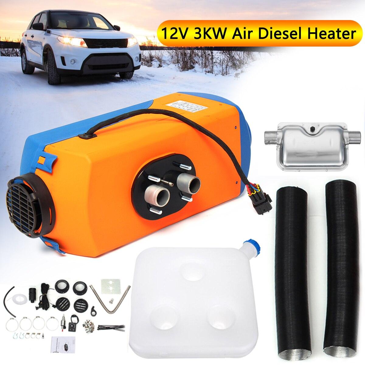 KROAK автомобильный обогреватель 12 В в 3 кВт парковочный обогреватель Air ELS обогреватель с поворотным переключателем + глушитель для Motorhome RV гру