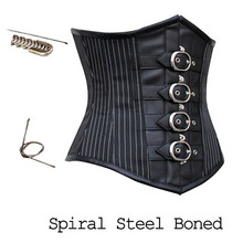 2016 new Steampunk stomach corset corset skinny skinny metal Cosplay stage