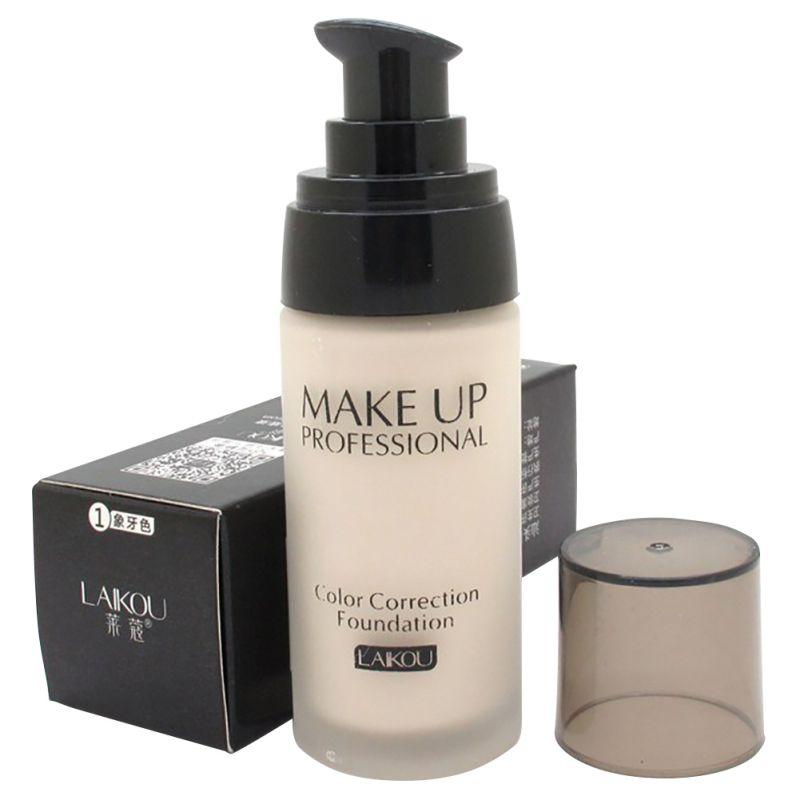 Beauty Moisturizing Whitening Concealer Liquid Foundation Makeup Cosmetic