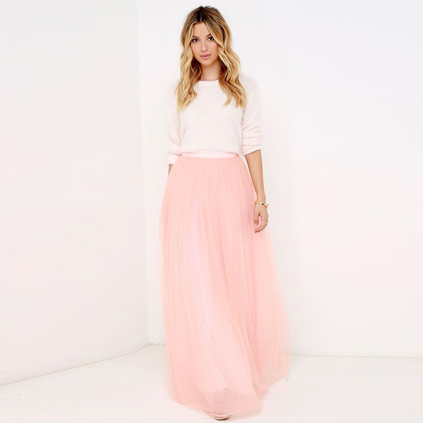 Compare Prices on Long Pink Skirt- Online Shopping/Buy Low Price ...