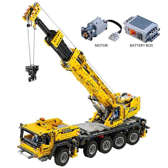 Block 20004 Legoing Technic 42009 The Remote Control Motor Mobile