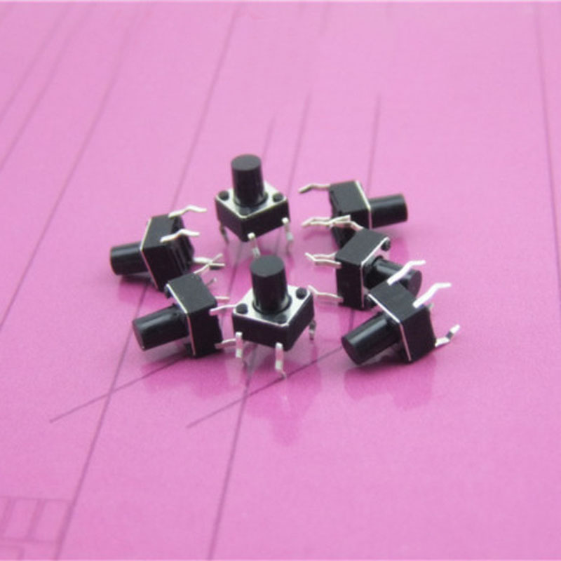 Button Push Switch Small