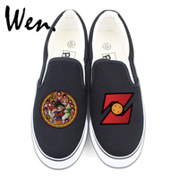 Wen Anime Dragon Ball Z Son Goku Custom Slip On Shoes For Man Woman Design 2
