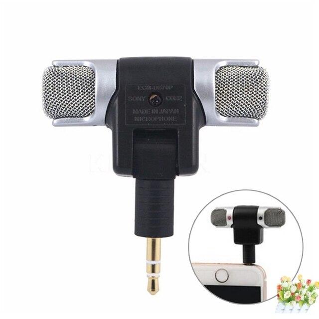 Mini 3.5 millimetri Microfono Stereo Mic Per Il computer Portatile Microfono Per computer non per il telefono
