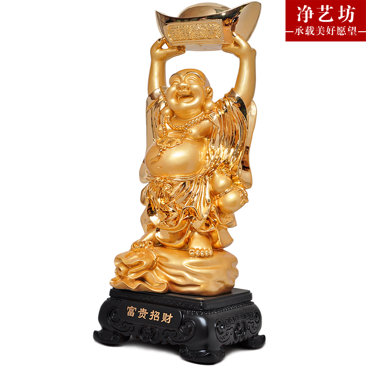 Wealth Maitreya Buddha Lucky Lucky Craft Decoration Housewarming Gift  Opening New Home Office Furnishings Pieces On Aliexpress.com | Alibaba Group