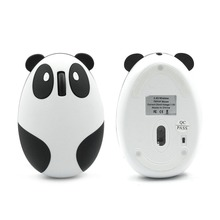 Эргономичная Беспроводная перезаряжаемая оптическая мышь в форме панды 2,4 ГГц, игровая профессиональная геймерская мышь