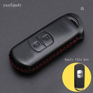 Image 2 - 2 botones r cubierta billeteras bolsa clave anillo araba aksesuar para Mazda 2 / 3/ 5/ 6 CX 3 CX 4 CX 5 CX 7 CX 9 Atenza Axela MX5