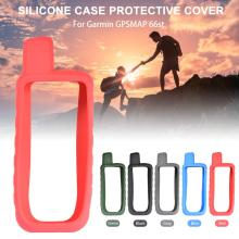Silicone Protect Case Cover Skin For Handheld GPS Garmin GPSMAP 66s 66st Accessories 5 Colors garmin gpsmap 7412xsv