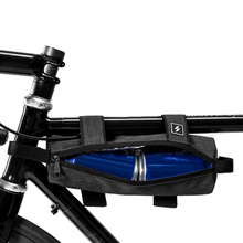 Bike Handlebar Bag Cycling Top Tube Bicycle Front Frame Strap-on Storage Accessories