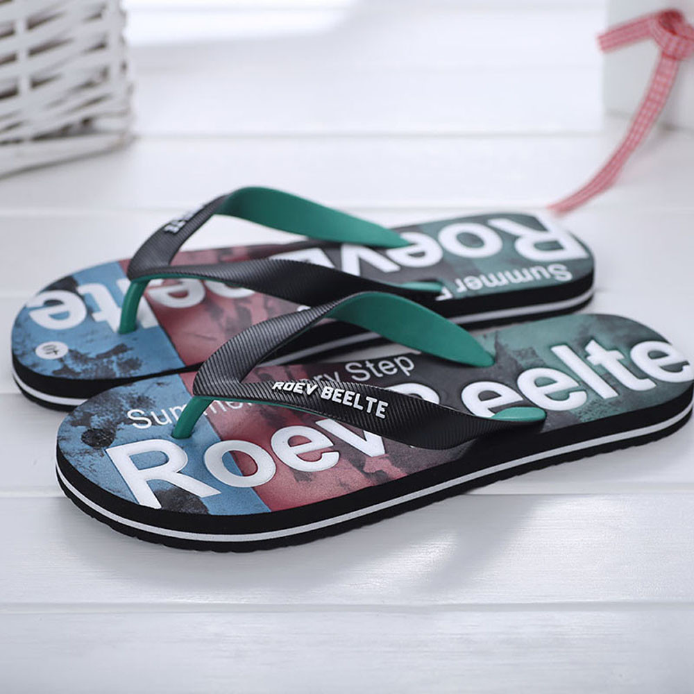 SA44 Men Summer Mixed Colors Shoes Sandals Male Slipper Indoor Or Outdoor Flip Flops все цены