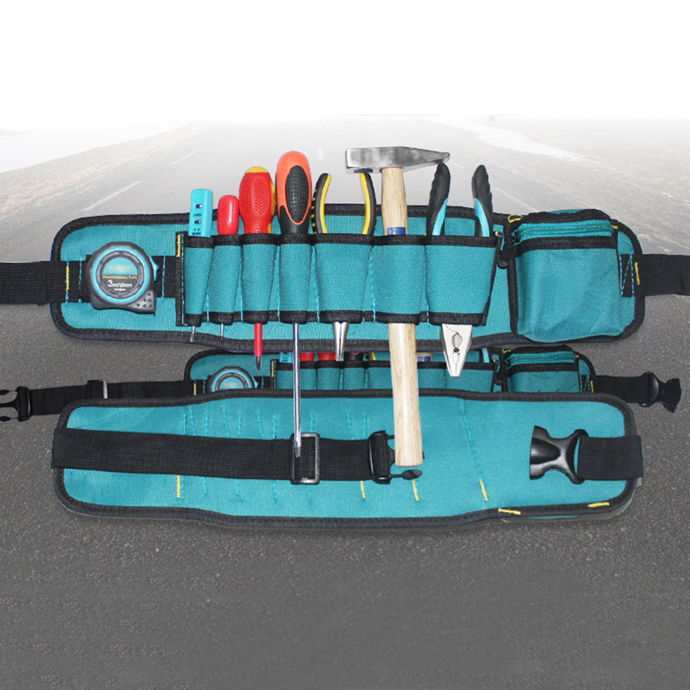 New Waist Tool Bag Utility Pouch Electricians Belt Bag Organizer Tool Belt Pouch Bag Screwdriver Tool Part td new design electricians waist pocket tool belt pouch bag screwdriver carry case holder outdoor working free shipping