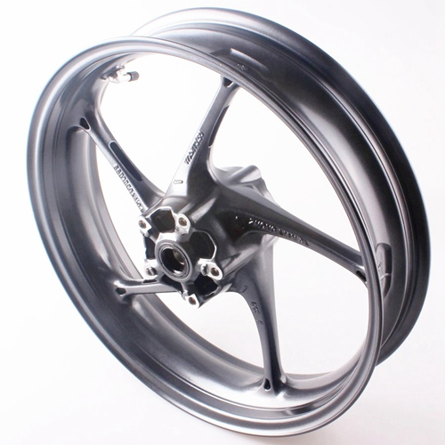 For Triumph Front Wheel Rim Daytona 675R 2013+ Street Triple R 2013 2014 High Quality Aluminum Alloy Black Motorcycle Accessory (1)