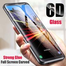 For Samsung S6 Edge Plus Curved Tempered Glass 3D Full Screen Protector Film Samsung Galaxy S6 Edge S6 Edge Plus G9250 G9280 9H чехол r just для samsung s6 edge plus из ультра тонкого алюминиевого сплава