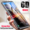 For Samsung Galaxy S9 S6 S7 Edge Plus Curved Tempered Glass 6D Full Screen Protector For Samsung S9 S8 Plus Note 9 8 Protective