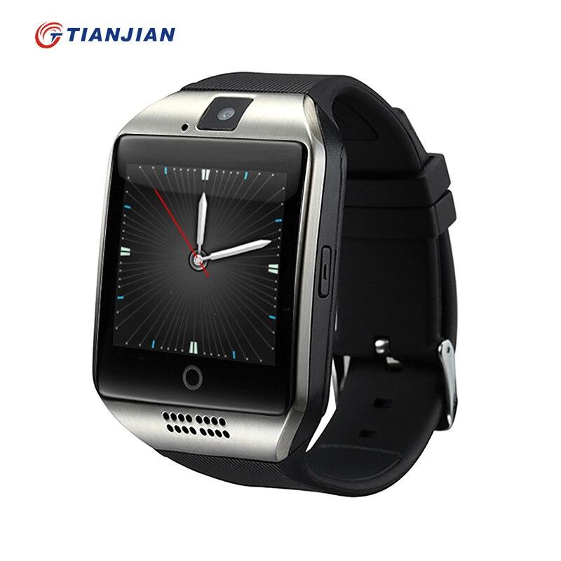 Smart Watch Q18 Bluetooth Smartwatch Passometer Camera Health Round  Wearable De