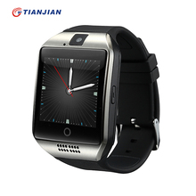 Smart Watch Q18 Bluetooth Smartwatch Passometer Camera Health Round 2016 Wearable Devices For Android IOS PK GT08 DZ09 GV18