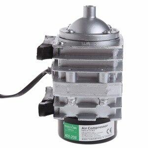 Image 4 - 45L/min 25W אלקטרומגנטית מדחס אוויר אקווריום חמצן אוויר בריכת משאבת Aerator