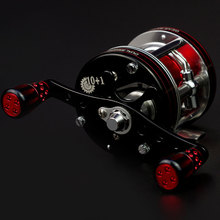 All-metal bait reel 8 brakes Right Left Hand Bait Casting Fishing Reel 6+1BB 5.3:1 305g Baitcasting Reel High-strength body