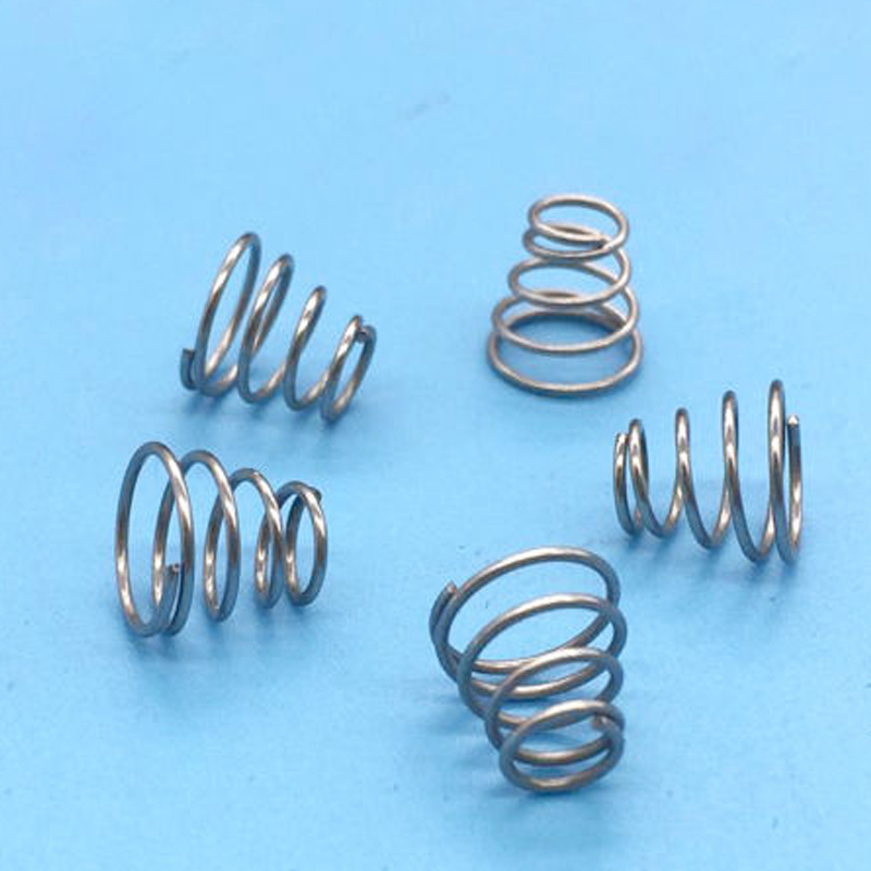0.6mm Wire Diameter 3.4mm Small OD 11mm Big OD Springs Battery ...
