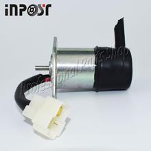 For Kubota engine parts Stop Solenoid 16271-60012 fits for V1505 D1305 D1105 D1005 D905