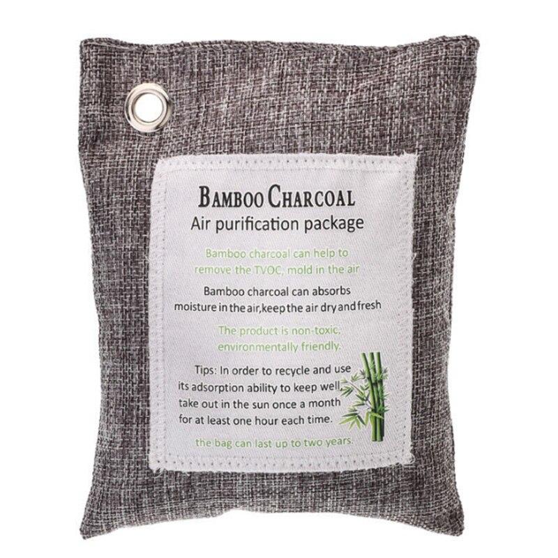Air Purify Bag Fresh Active Linen Bags Bamboo Charcoal Carbon Purifier Mold Odor