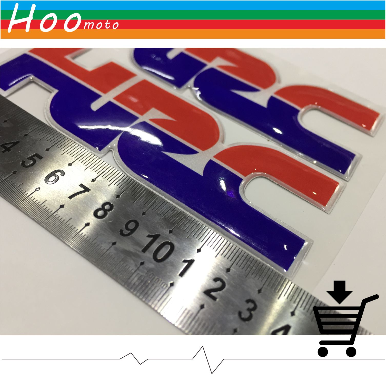 13.5*4.5cm motorcycle stickers car stickers and decals three-dimensional 3D car-styling For HONDA CBR1000RR CBR600RR HRC MOTO