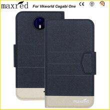 원래 5 가지 색상! Vkworld cagabi one case 패션 럭셔리 울트라-얇은, 고품질 가죽 독점 케이스 vkworld cagabi one
