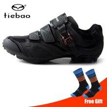 Tiebao MTB велосипедная обувь гоночная Спортивная ТПУ подошва велосипедная обувь мужские кроссовки женские самоблокирующиеся велосипедная обувь sapatilha ciclismo